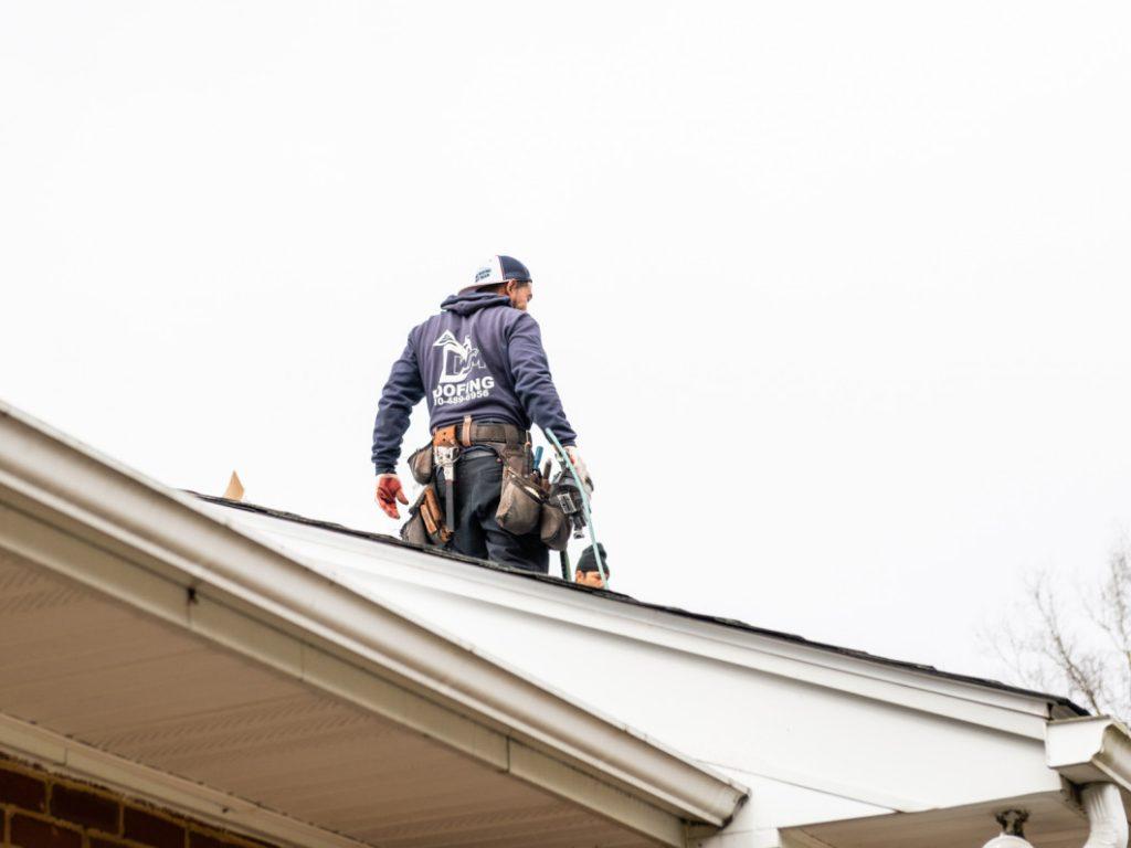 Roof repair from NewBrook Home Improvement